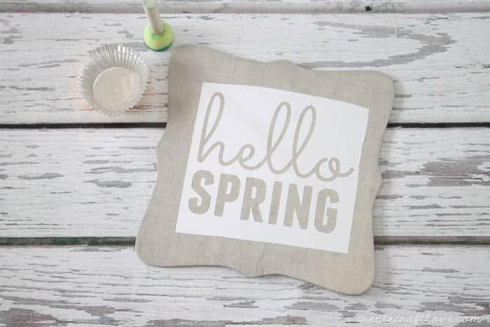 diy spring decor 1
