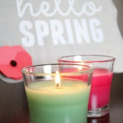 This DIY Spring Decor was inspired by the new Glade Seasonal Scents! #ad #FeelGlade #spon