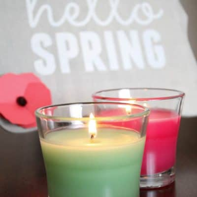 DIY Spring Decor with Glade Seasonal Scents