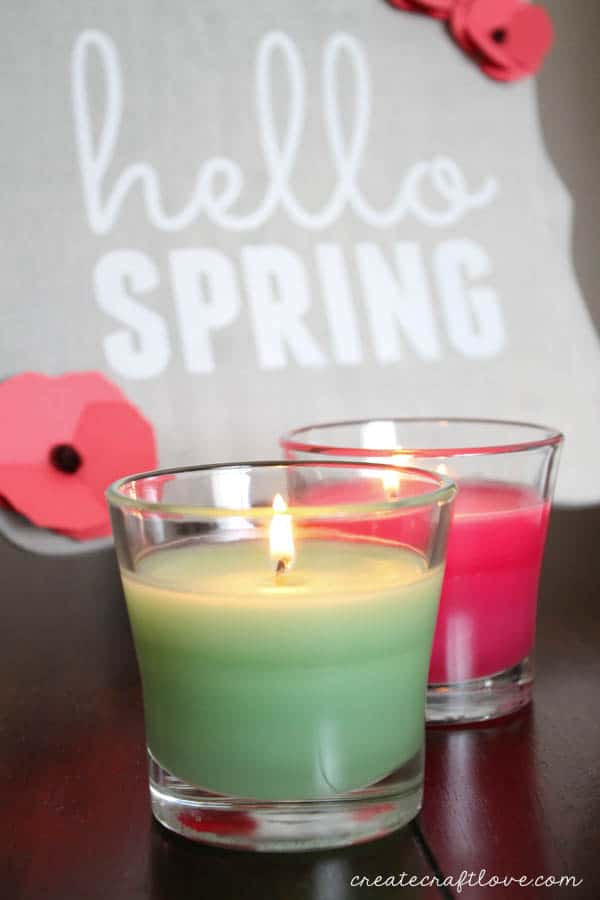 This DIY Spring Decor was inspired by the new Glade Seasonal Scents! #ad #FeelGlade #CG
