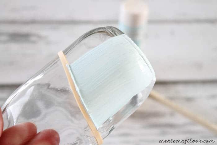 paint dipped milk bottles 2