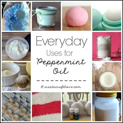 Everyday Uses for Peppermint Oil via createcraftlove.com