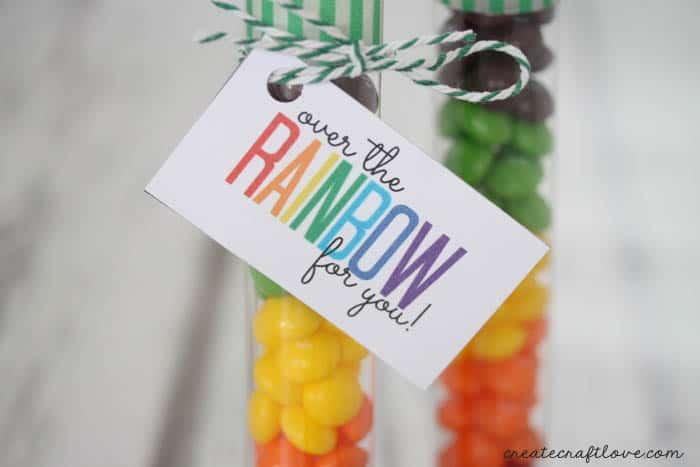 rainbow printable upclose