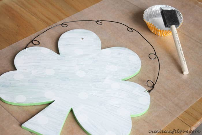 st. patrick's day wall hanging 2