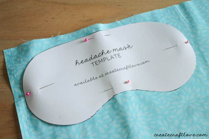 DIY eye mask 1