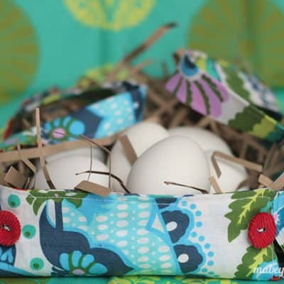 Fat Quarter Easter Basket