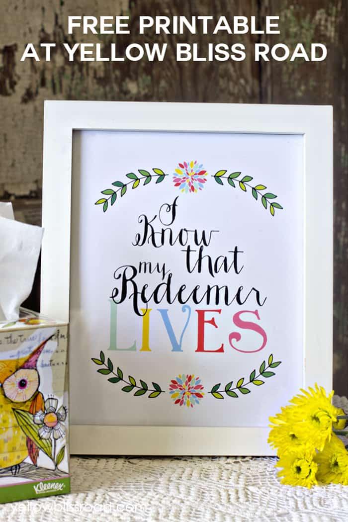 Free-Printable-My-Redeemer-Lives1