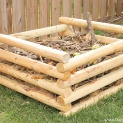 diy compost horizontal