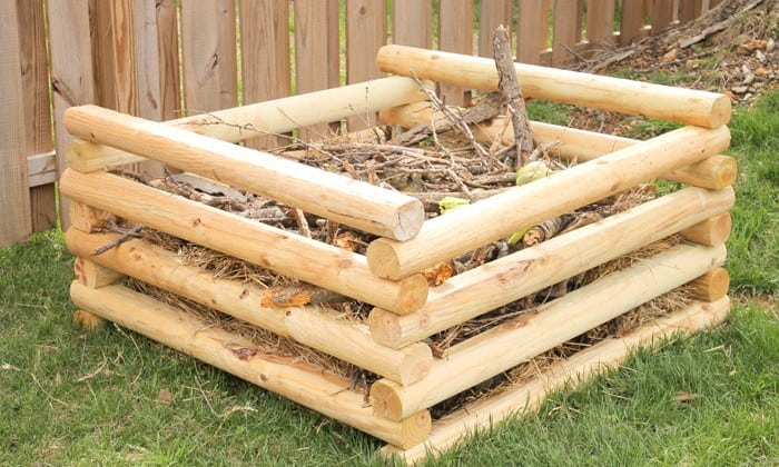 diy compost horizontal