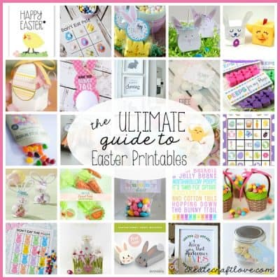 The ULTIMATE Guide to Easter Printables via createcraftlove.com