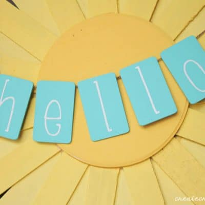 Hello Sunshine Spring Wreath