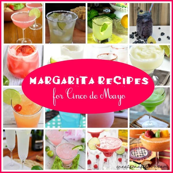 The BEST Margarita Recipes for Cinco de Mayo! via createcraftlove.com