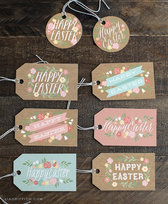 Ultimate guide to easter printables printable easter gift tags negle Choice Image