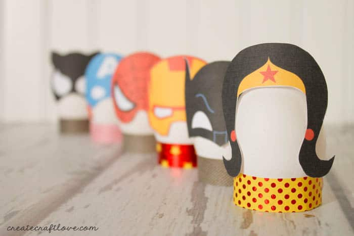 DIY Superhero Easter Eggs
