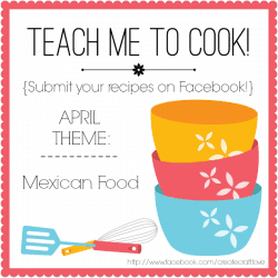 April Teach Me to Cook Theme