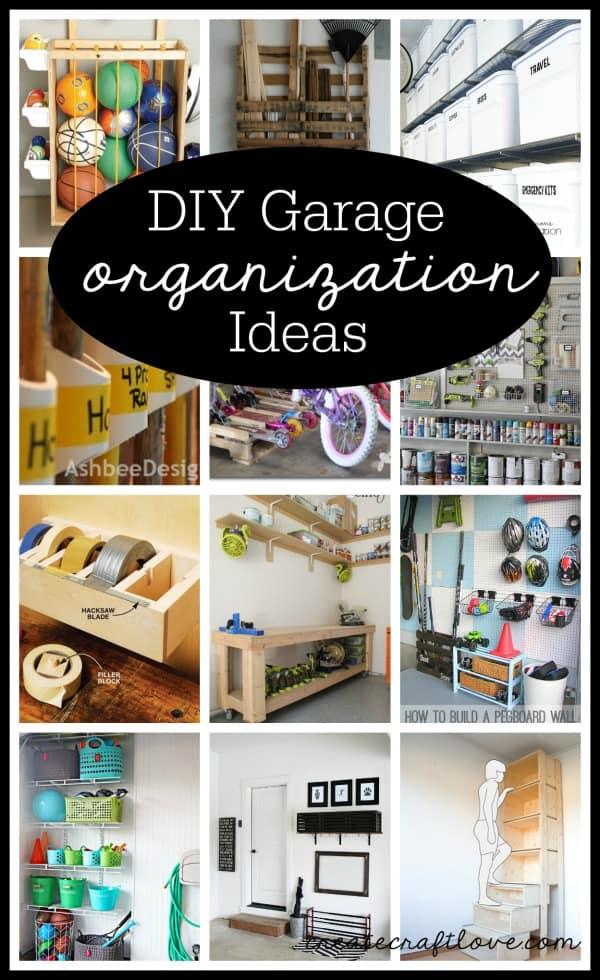 Diy Garage Organization