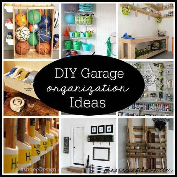 Diy Garage Organization Ideas Part - 31: Check Out These DIY Garage Organization Ideas Via Createcraftlove.com!
