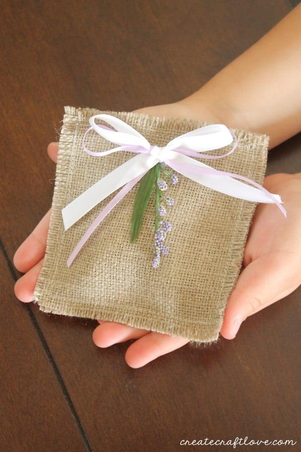 lavender vanilla sachet