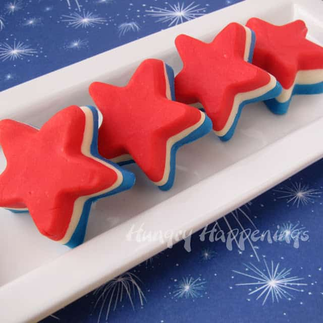 Fourth-of-July-recipes-red-white-and-blue-fudge-stars