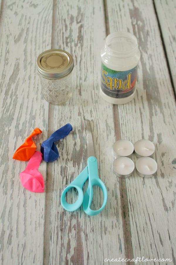 balloon dipped luminaries supplies