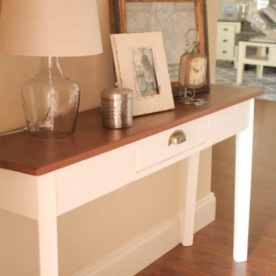 Farmhouse Style Entry Way Table