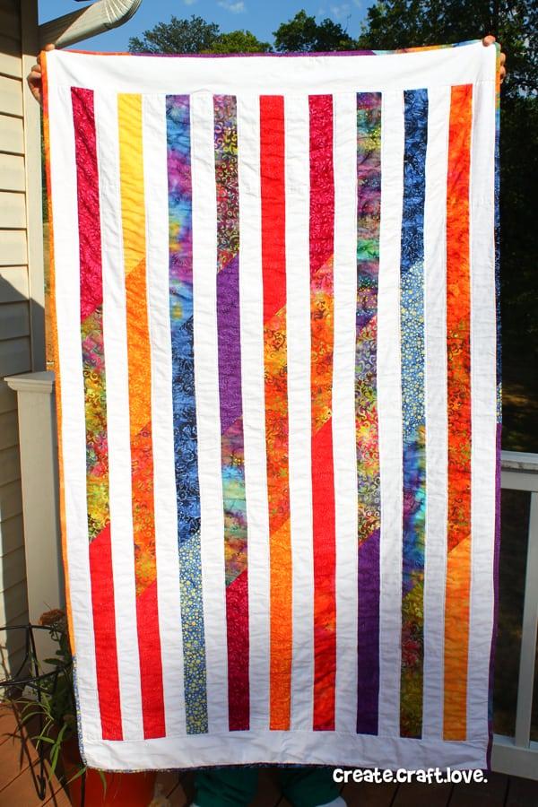 island beach quilt