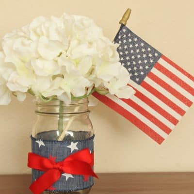Red, White & Blue Centerpiece