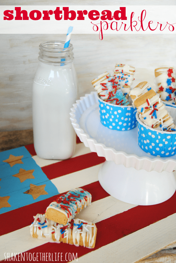 Red, White and Blueberry Cookie Tarts
