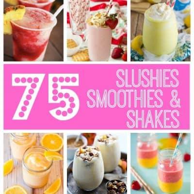 Slushies, Smoothies, and Shakes - OH MY! via createcraftlove.com