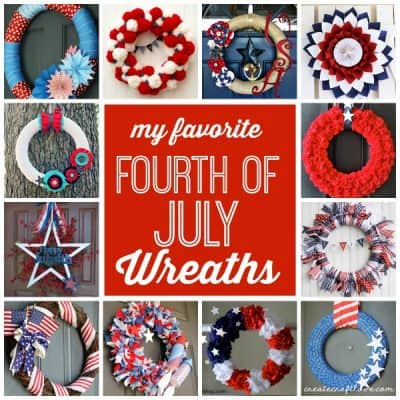 My Favorite Fourth of July Wreaths