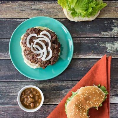 A Most Delicious Juicy Burger |Cupcakes&Crowbars