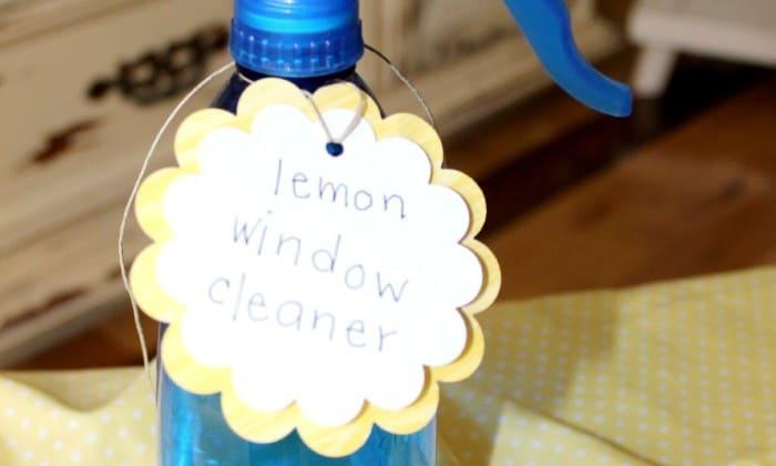 Make your own Homemade Window Cleaner! via createcraftlove.com