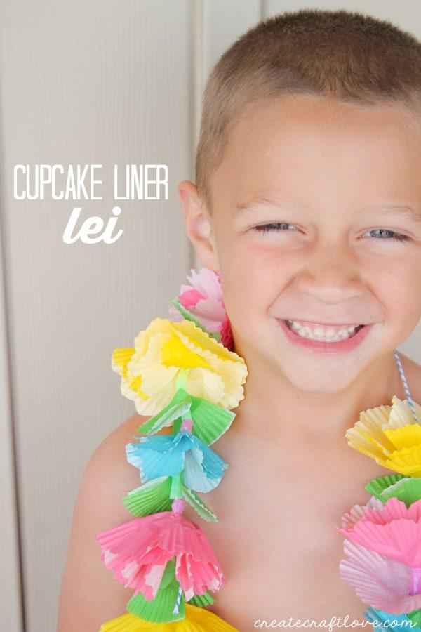 cupcake liner lei beauty