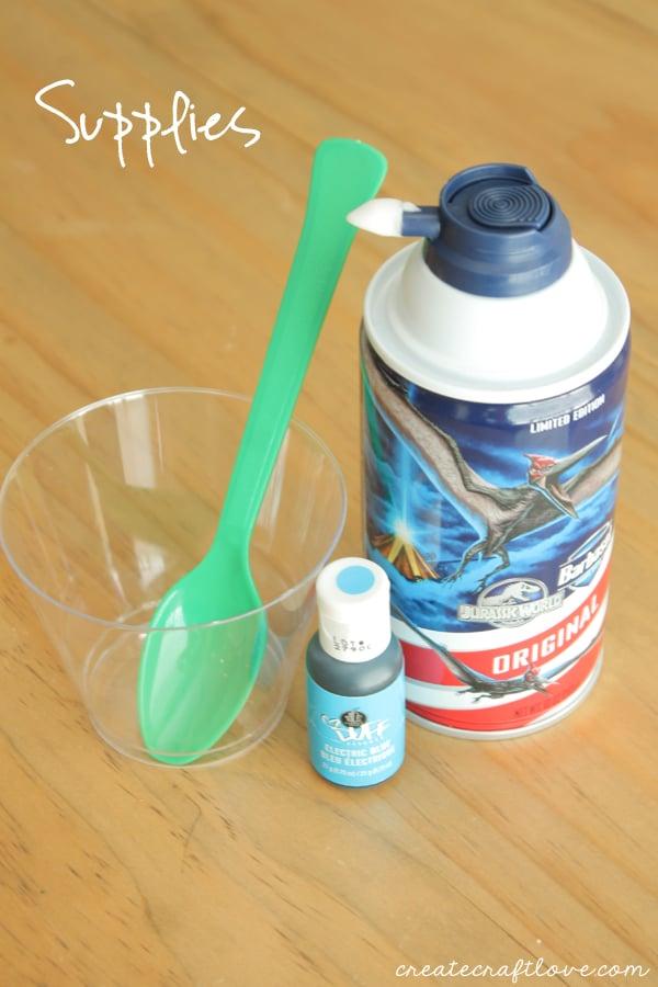 diy bath paint supplies