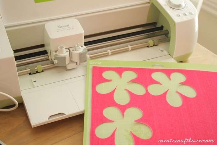 floral straw toppers cricut
