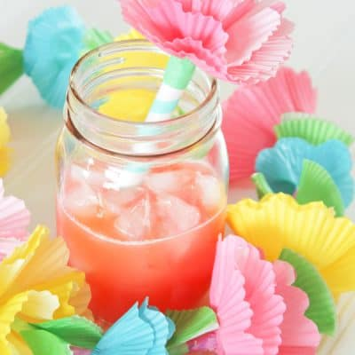 Add flare to your next summer gathering with these easy to make DIY Straw Toppers! via createcraftlove.com for The 36th Avenue