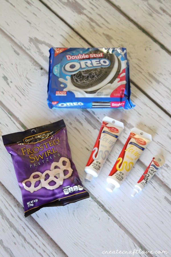 bumblebee oreos supplies