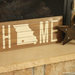 home state wall art horizontal