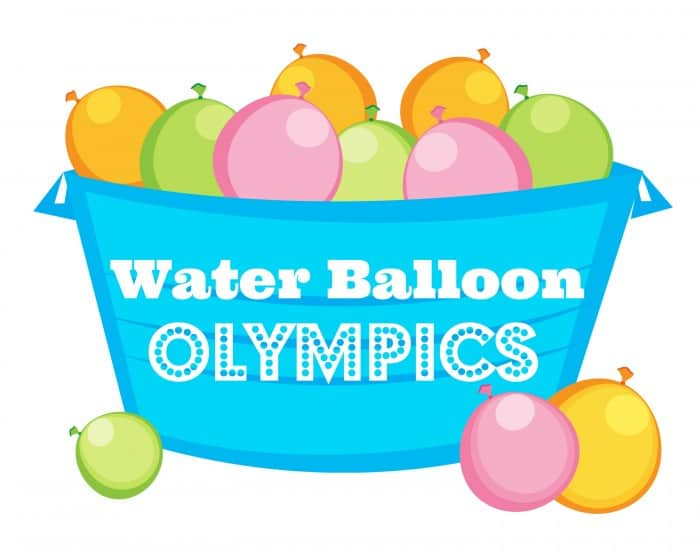 water balloon olympics