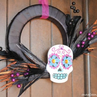 Day of the Dead Wreath