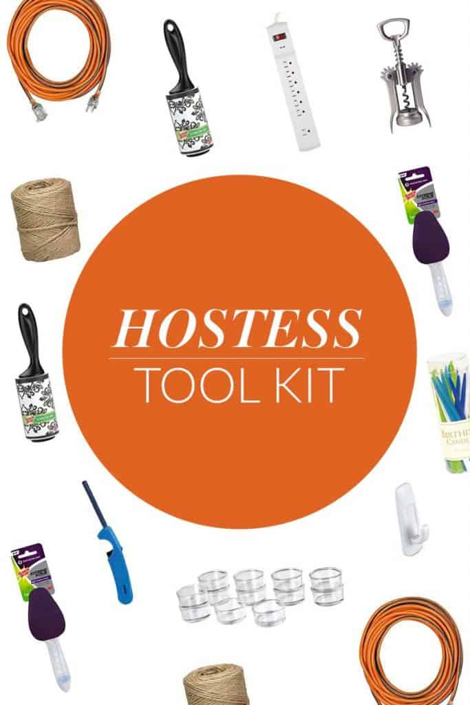 Keep up with the holidays parties with this DIY Hostess Tool Kit! via createcraftlove.com #EviteParty #CleanFeelsGood
