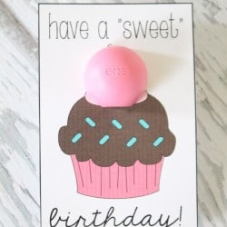 This Birthday Printable is quick and easy to put together! via createcraftlove.com