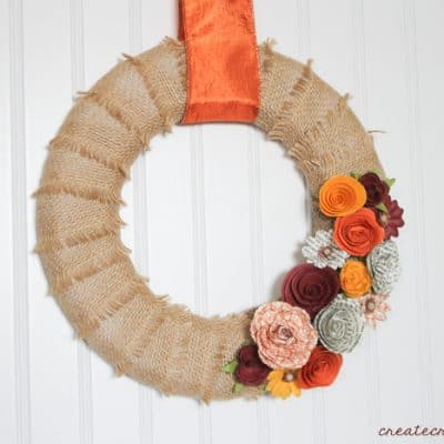 Fall Harvest Mini Wreath