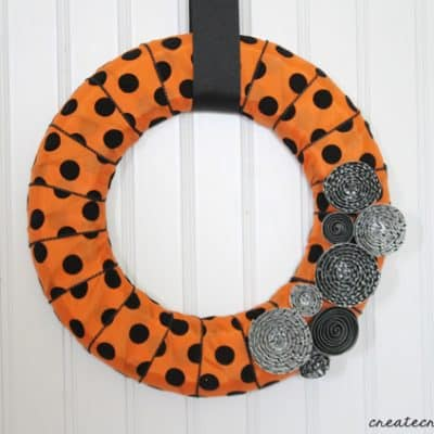 Halloween Mini Wreath