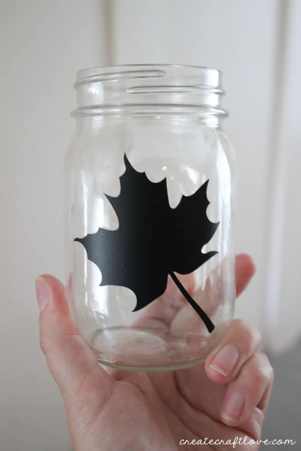 vinyl decal leaf