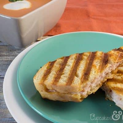 Smoky Gouda Turkey Panini | Cupcakes&Crowbars