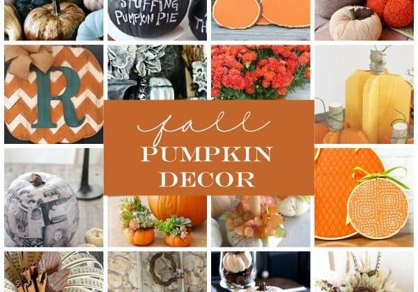 These Fall Pumpkin Decor ideas can be kept up all season long! via createcraftlove.com