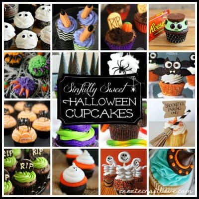 These Sinfully Sweet Halloween Cupcakes will test your will power!