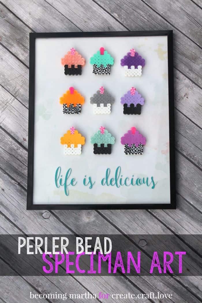 Perler Bead Speciman Art 1