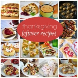 This year try out one of these Thanksgiving Leftover Recipes and get out of the leftover rut! via createcraftlove.com